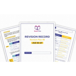 Hifdh Revision Plan 4B